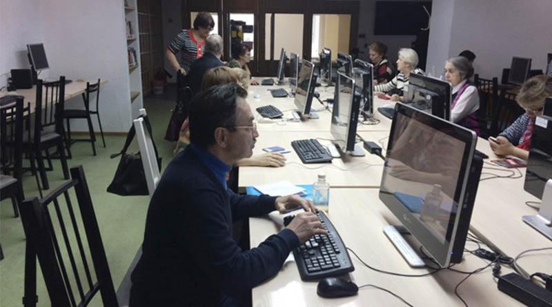 Региональный чемпионат по компьютерному многоборью среди пенсионеров Томской области.
