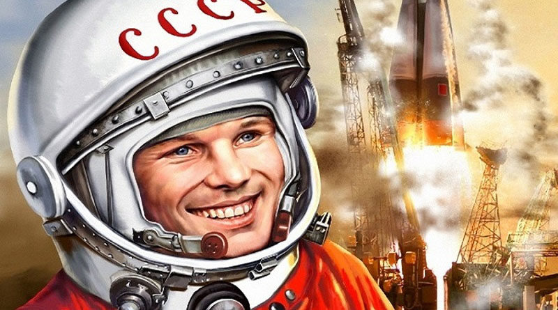 Мультимедийный проект, созданный к 60-летию первого полёта человека в космос